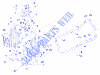 Cooling system for VESPA Vespa GTS ie ABS Super 2014