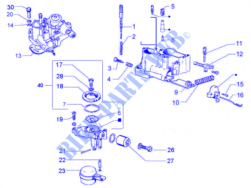 vespa carburetor diagram    carburetor s    components for    vespa    125    vespa    px 2011     carburetor s    components for    vespa    125    vespa    px 2011