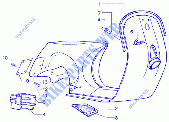 vespa chassis