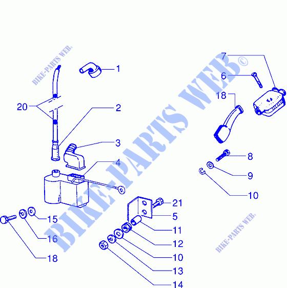 Electronic ignition device for VESPA 200 Vespa PX 200 E ... on vespa piaggio, vespa lx150, vespa px200, vespa parts, vespa et4, vespa p200e, vespa 1965 150 sportique, vespa clutch,