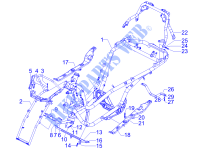 Frame/bodywork for PIAGGIO MP3 2008