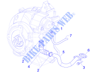 Secondary air box for PIAGGIO MP3 2008