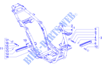 Frame/bodywork for PIAGGIO NRG Power DT Serie Speciale 2007