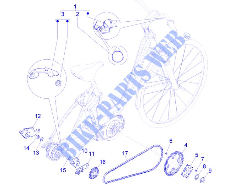 Gear Shift Nuvinci Mech Braking System Transmissions Wi Bike Uni